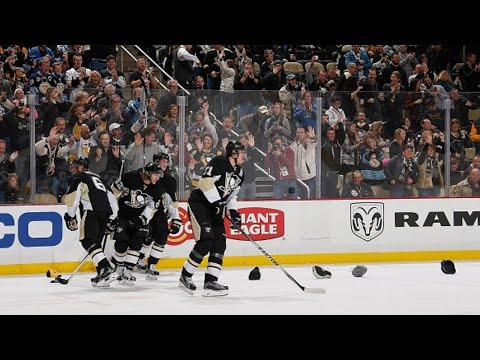 Malkin records 10th career hat trick