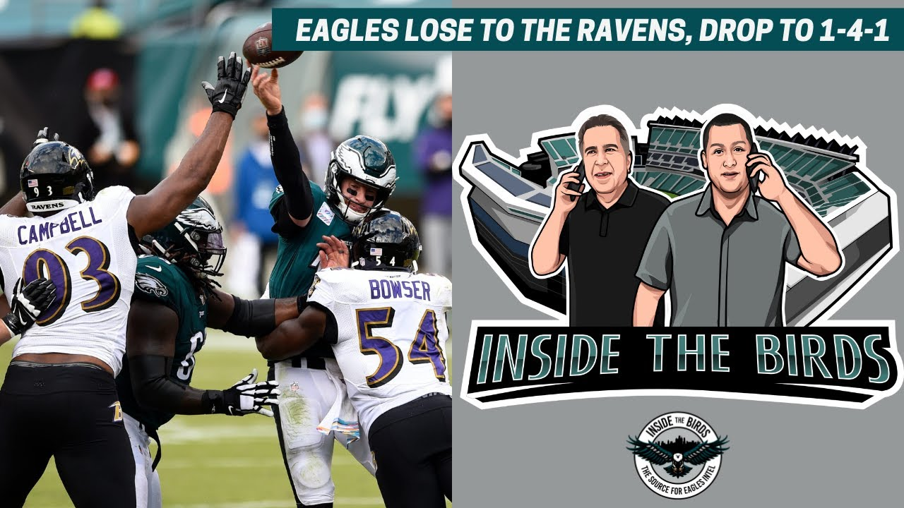 Download Eagles Drop To Ravens: Fourth Quarter Rally Falls Short, Birds Lose Second Straight