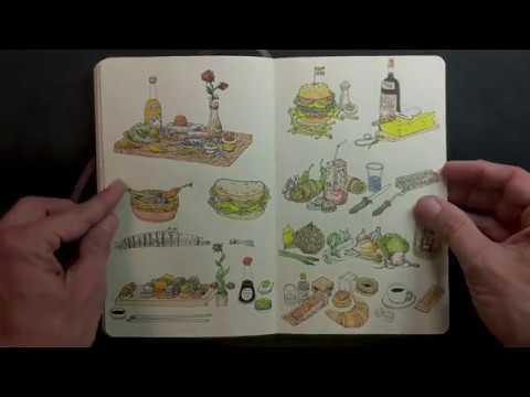 Moleskine sketchbook 35