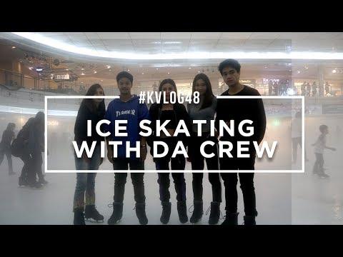 #KVLOG48 - ICE SKATING WITH DA CREW