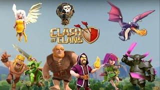 rap de clash of clans videoclip oficial santaflow 1080pletradescarga