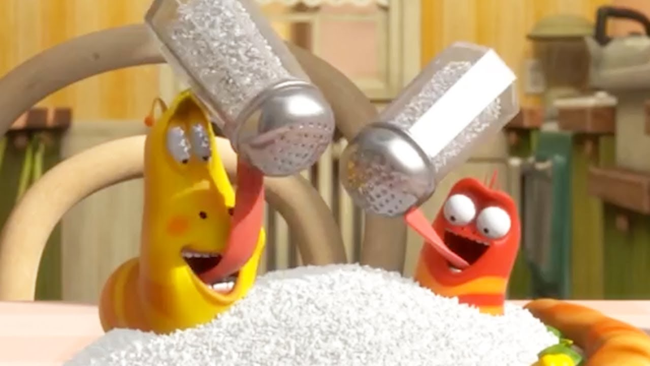 LARVA   EAT LESS SALT