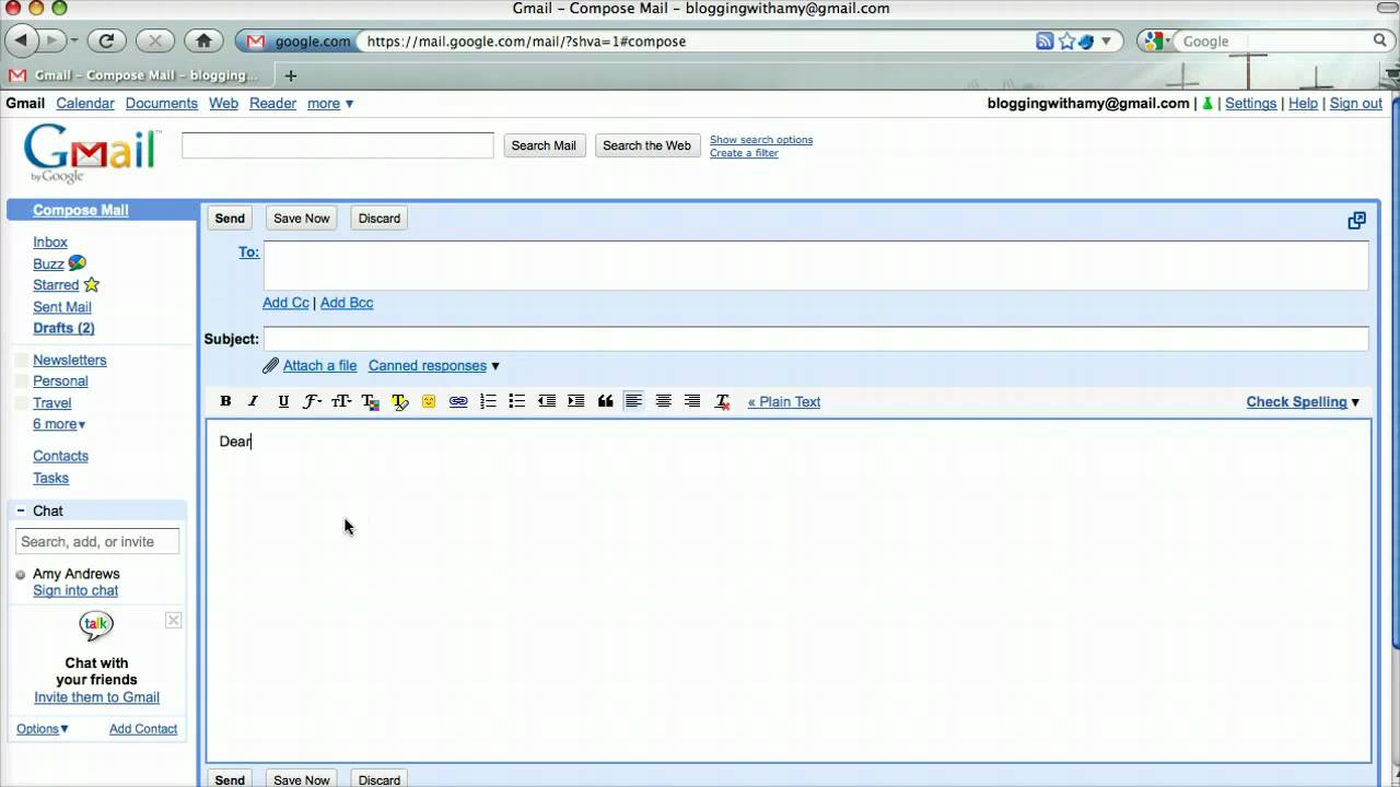 How to Use Email Templates in Gmail - YouTube