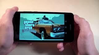 Игры Huawei Y5 2017 (GTA:SanAndreas, MortalCombatX, RealRacing3)