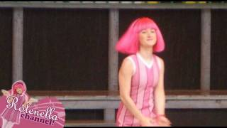 Repeat youtube video Lazy Town Live! with Julianna Mauriello