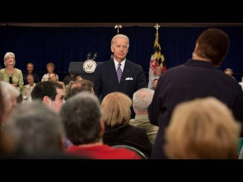 Joe Biden claims he said 'facts' not 'fat' to Iowa voter: Listen to the ...