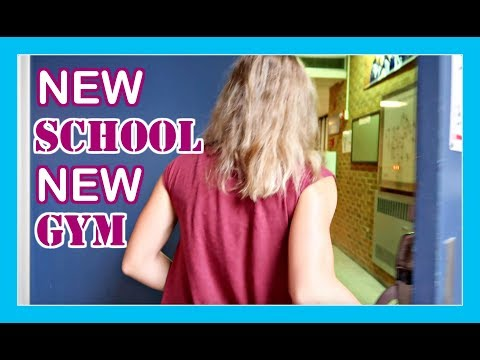 READY FOR A NEW SCHOOL AND A NEW GYM | Flippin' Katie