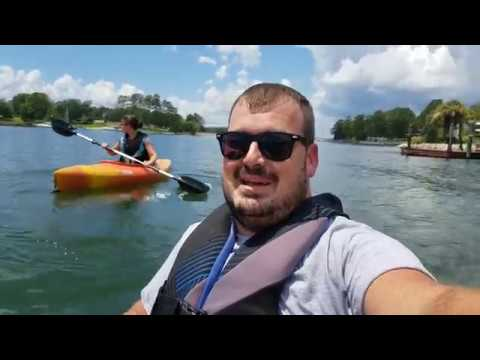 Kayaking For The First Time - Lake Murray South Carolina