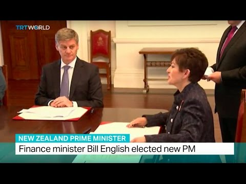 New Zealand Prime Minister: Finance minister Bill English elected new PM
