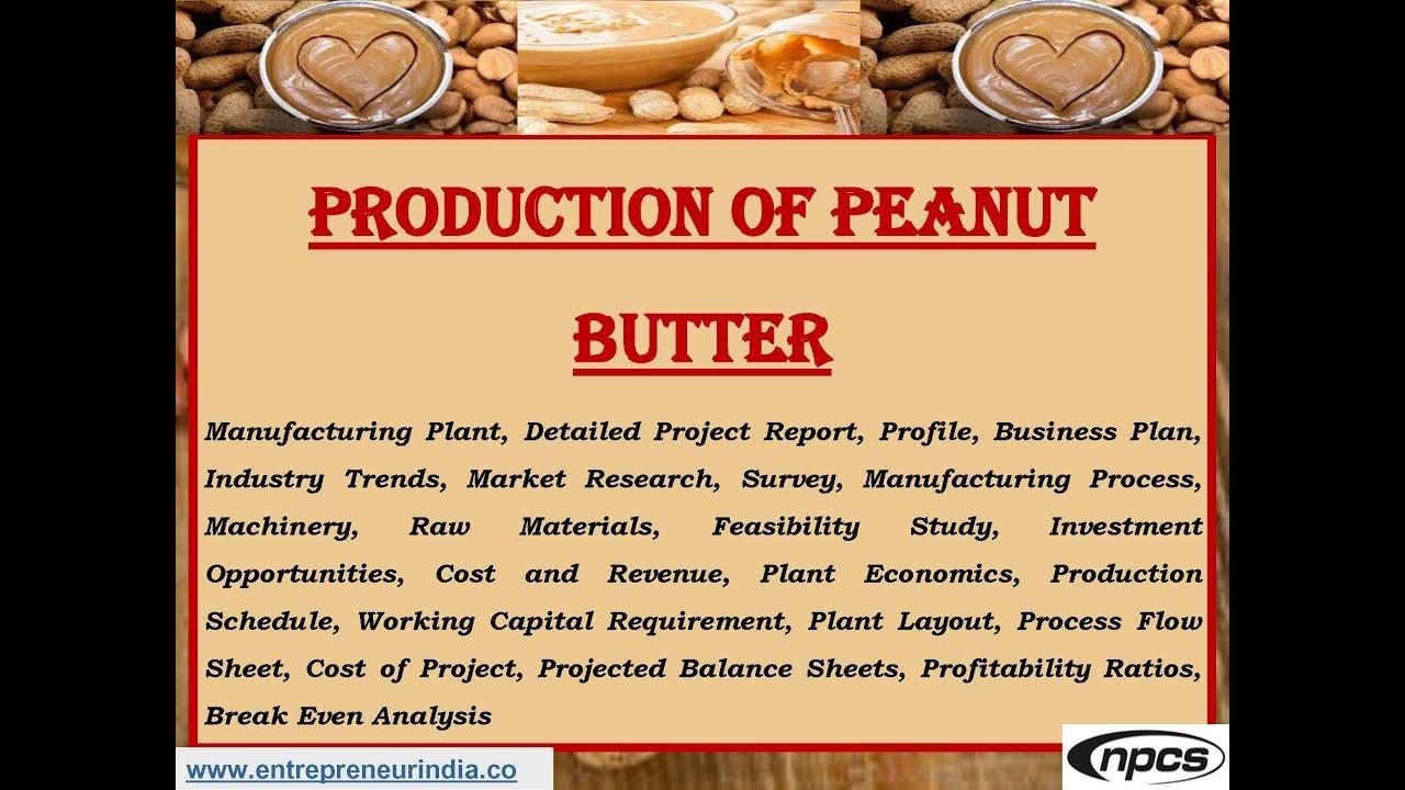 GROUNDNUT (PEANUT) COMPLETE BUSINESS PLAN DONWLOAD