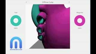 Cubify Cube 3  - Impression en 2 couleurs avec imprimante 3D  - MISTER BOT COM