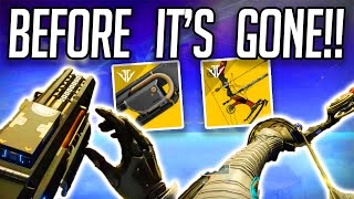 Before It's Gone | How to get Jotunn and Le Monarque - DO THIS NOW!!