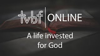 3rd May 2020 - A Life Invested for God