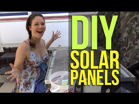 DIY Build Solar Panels 2/2: Homemade from Scratch, Wiring, Encapsulant