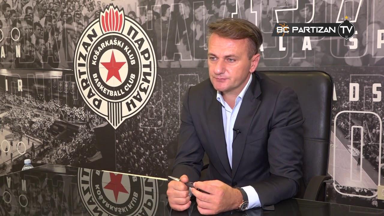 """BC Partizan TV: ,,Pitajte predsednika KK Partizan NIS, Ostoju Mijailovića"""" (11.08.2020.)"""