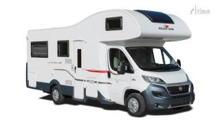 6 Berth Premier Motorhome with Rear Lounge layout
