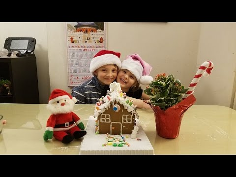 Vogel Team Builds A Gingerbread House