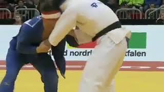 Uchi matha specialist Ono  in judo Japan vs Germany