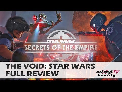 The Holodeck Is Here: Star Wars - Secrets Of The Empire Review [The Void] [Westfield, London]