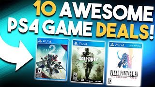 10 AWESOME PS4 Game Deals RIGHT NOW! (Best Playstation 4 Deals 2017)