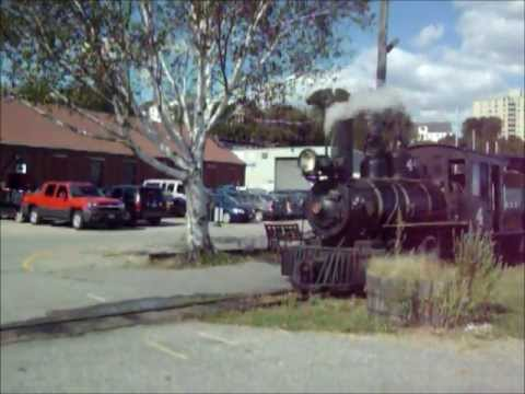 """Maine Narrow Gauge Railroad Music Video """"Crazy Train"""" by Ozzy"""