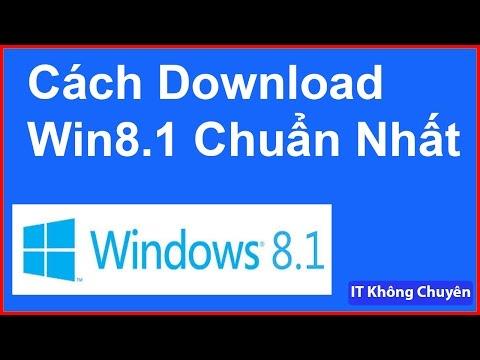 Cách Tải Bản Cài Windows 8.1 Pro Chuẩn Nhất | Download Windows 8.1 | Media Creation Tool