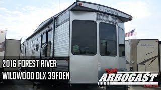 2016 Forest River Wildwood DLX 39FDEN Destination Trailer | Dave Arbogast RV Depot