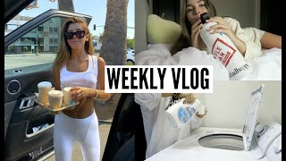 VLOG- few days of my life at college + life update