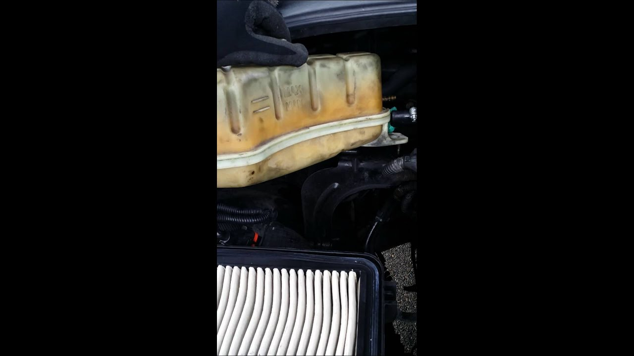 small resolution of repairing cooling system on 2003 kia sorento