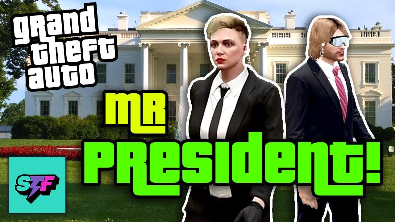 Protect the President! - GTA V | Hard Mode
