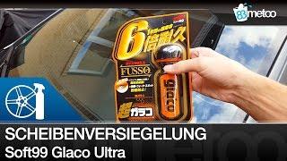 Soft99 Ultra Glaco Scheibenversiegelung Review - Glaco Glass Coating - Glaco Beading Abperleffekt
