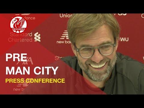 Liverpool vs. Man City   Jurgen Klopp Press Conference
