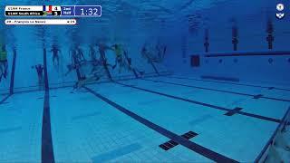 Game 147 GBR Vs RSA U19M   5th CMAS Underwater Hockey Age Group Worlds   Sheffield UK Court A