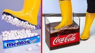 Experimento: Coca Cola vs Mentos