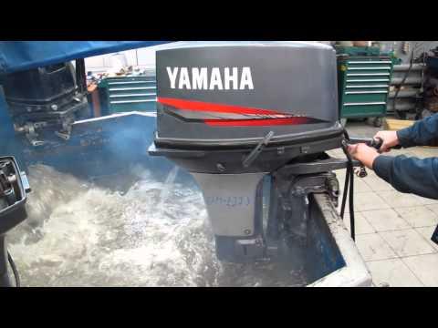 Мотор лодочный Yamaha 40 QEM, б/у 1994 г.в.