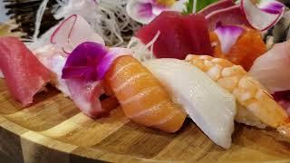 Amazing sushi/sashimi combination platter from Yoi Sushi in Flushing, NYC