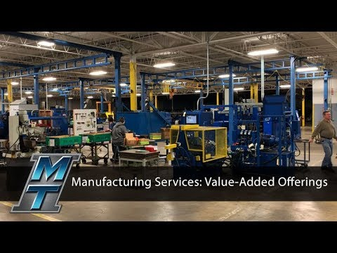 MTI's Manufacturing Services: Value- Added Offerings