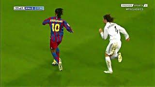Ronaldinho vs Real Madrid ● La Liga 2005/2006