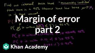 Margin of error 2
