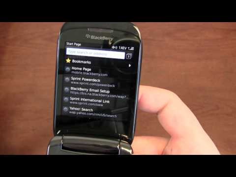 Blackberry Style 9670 Video Clips