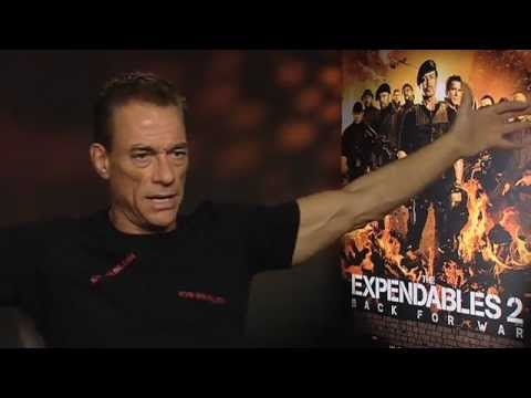 Jean Claude Van Damme Interview - The Expendables 2