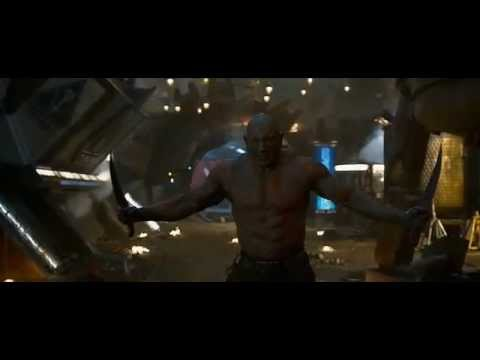 Guardians of the Galaxy Drax vs Ronan