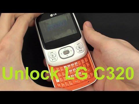 Unlock LG C320 Unlock Code for LG C320 LG Unlock Code