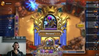 Hearthstone higlander dragon priest against the meta!!!