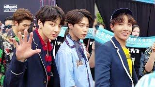 [UP-CLOSE] BTS | JUNGKOOK & JHOPE NOTICED ME! | BBMA 2018 PART 1