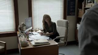 Repeat youtube video Sasha Alexander Shameless S05E09 Lip goes down on Helene