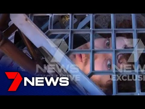 Video: Brave bystanders took down a knife-wielding man on a rampage in Sydney