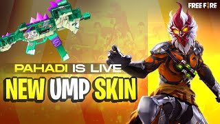 Free Fire Live With Pahadi || Unbelievable AWM Gameplay || Garena Free Fire
