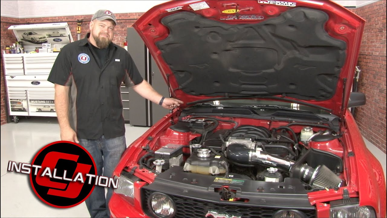 small resolution of mustang k n cabin air filter replacement 2005 2014 installation