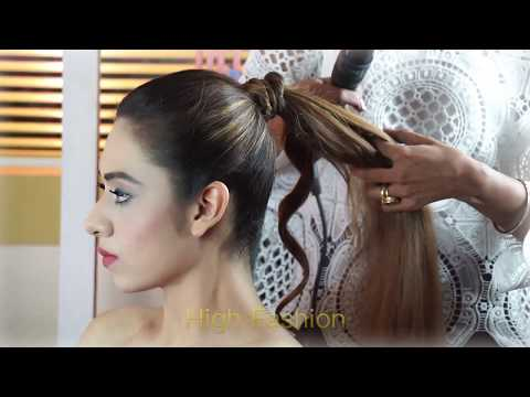 4 Easy & Elegant Party Buns for Girls |   Fascinating Fashion Collections